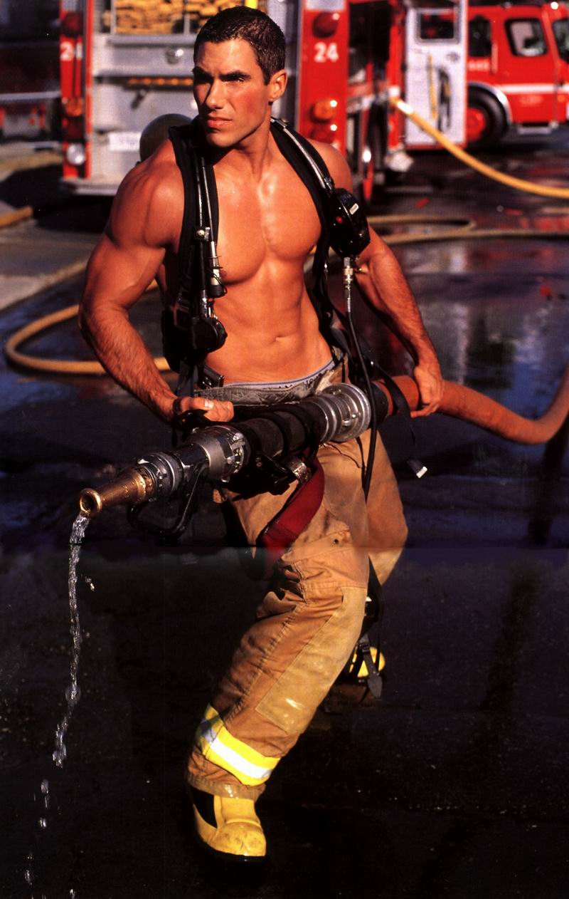 Fdny cool with super hot firefighter's gay porn past